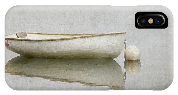 White Boat IPhone Case