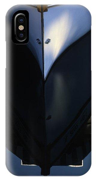 White Bow Reflections - Lake Geneva Wisconsin IPhone Case