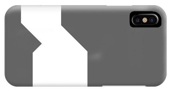 Swanky iPhone Case - White Cat Tangram by Roman Pshenitsyn