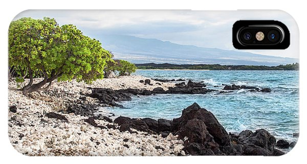 White Coral Coast IPhone Case
