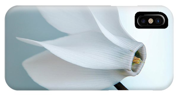 White Cyclamen. IPhone Case