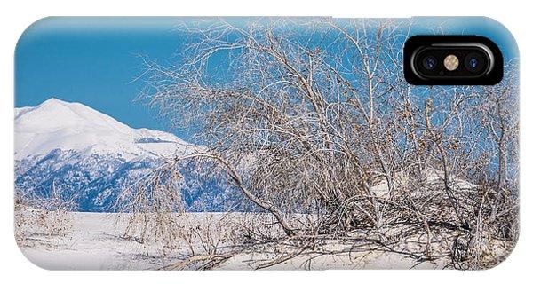 White Desert IPhone Case