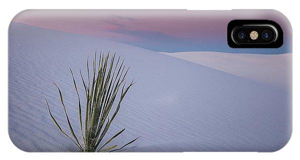 White Dunes IPhone Case