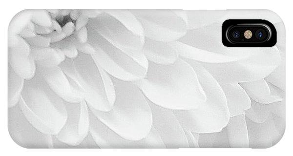 White Elegance IPhone Case