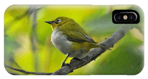 White Eye 1 IPhone Case