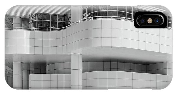 White - Getty Center IPhone Case