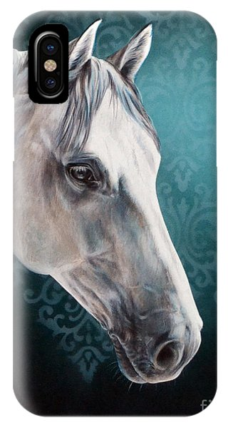 White Horse IPhone Case