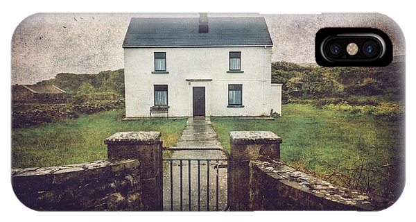 White House Of Aran Island I IPhone Case