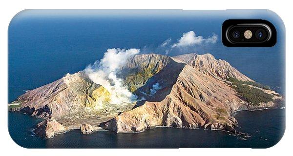 White Island IPhone Case