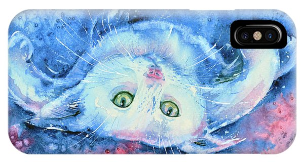 White Kitten  IPhone Case