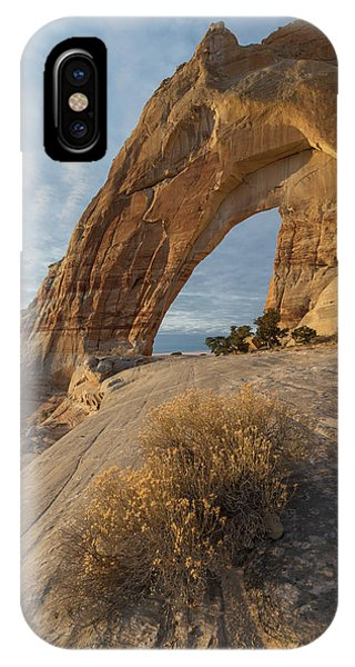 IPhone Case featuring the photograph White Mesa Arch by Dustin LeFevre