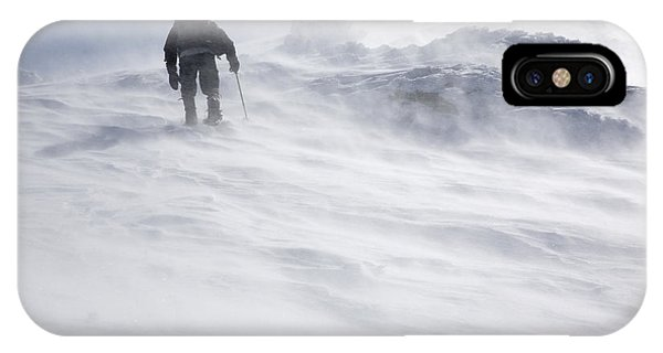 White Mountains New Hampshire - Extreme Weather IPhone Case