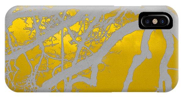 White Oak -yellow Orange IPhone Case