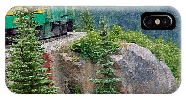 White Pass Train Alaska - Canada IPhone Case