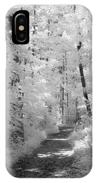 White Path IPhone Case