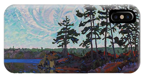 White Pine Island IPhone Case