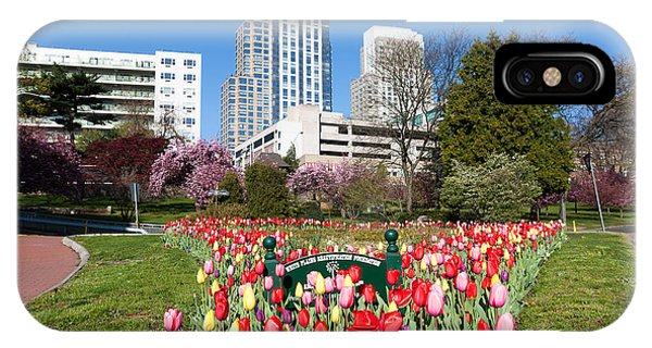 White Plains Beautification Foundation Garden IPhone Case