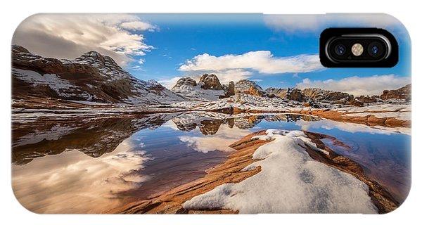 Arizona iPhone Case - White Pocket Northern Arizona by Larry Marshall