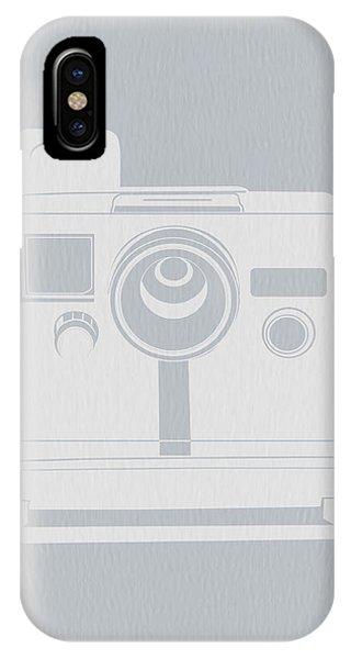White Polaroid Camera IPhone Case
