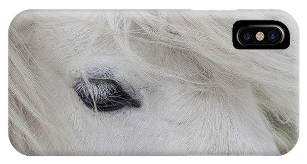 White Pony IPhone Case