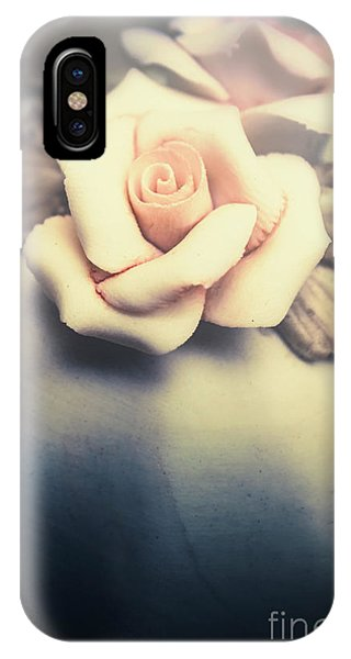 Close Focus Floral iPhone Case - White Porcelain Rose by Jorgo Photography - Wall Art Gallery