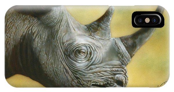 White Rhino IPhone Case