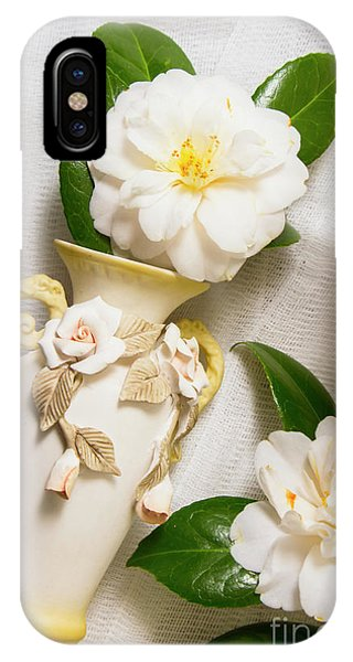 Ceremony iPhone Case - White Rhododendron Funeral Flowers by Jorgo Photography - Wall Art Gallery