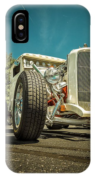 White Rod IPhone Case