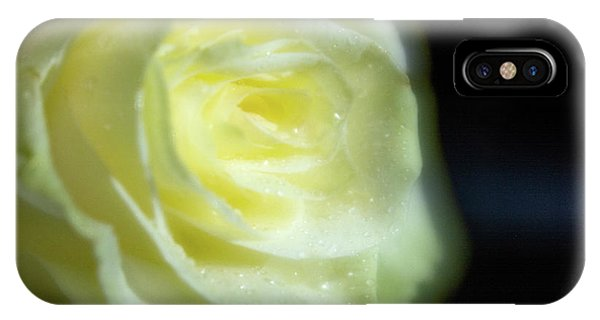 White Rose 4 Soft IPhone Case