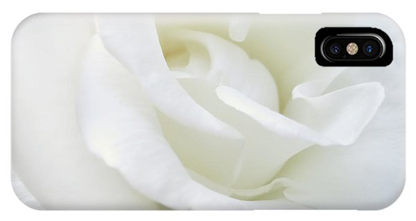 White Rose Angel Wings IPhone Case