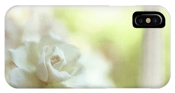 White Rose IPhone Case