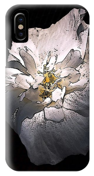 IPhone Case featuring the photograph White Rose Of Sharon by Richard Ricci