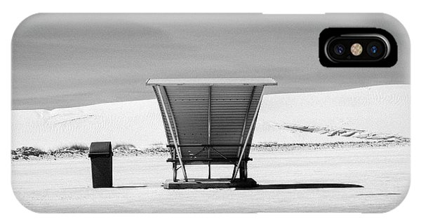 IPhone Case featuring the photograph White Sands National Monument #10 by Lou Novick