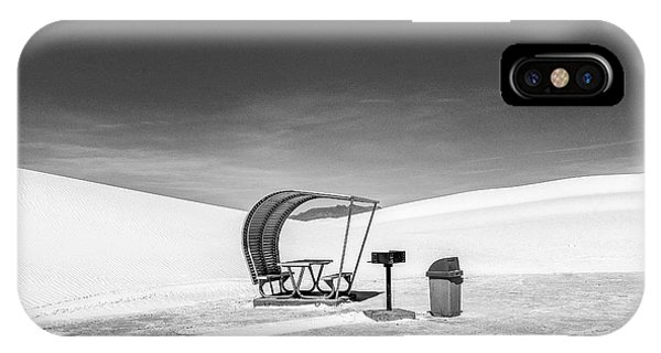 IPhone Case featuring the photograph White Sands National Monument #8 by Lou Novick