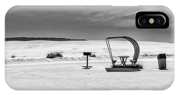 IPhone Case featuring the photograph White Sands National Monument #9 by Lou Novick