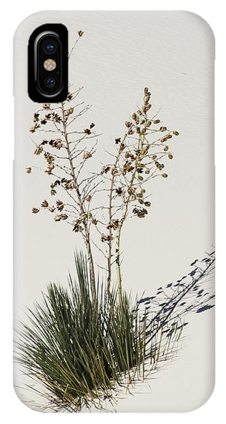 White Sands Yucca IPhone Case
