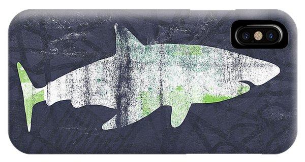 Hammerhead Shark iPhone Case - White Shark- Art By Linda Woods by Linda Woods