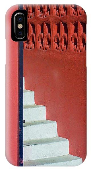 White Staircase Venice Beach California IPhone Case