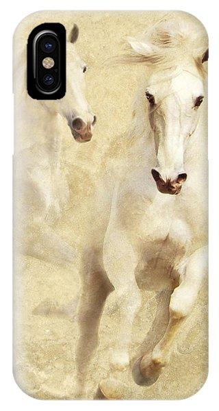 White Thunder IPhone Case