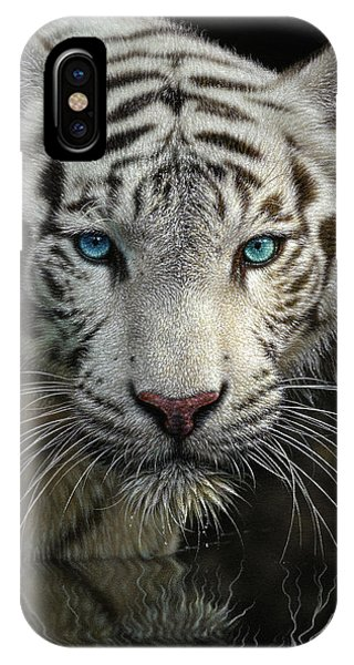 White Tiger - Into The Light IPhone Case
