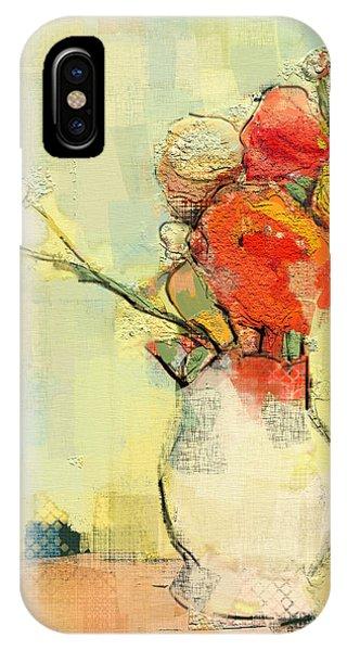 White Vase IPhone Case