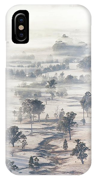 Hunting iPhone Case - White Wash by Az Jackson