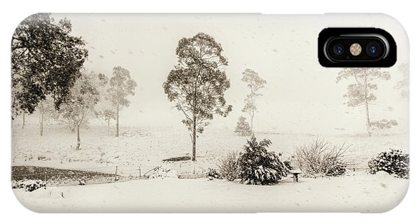 Wintry iPhone Case - White Washed by Jorgo Photography - Wall Art Gallery