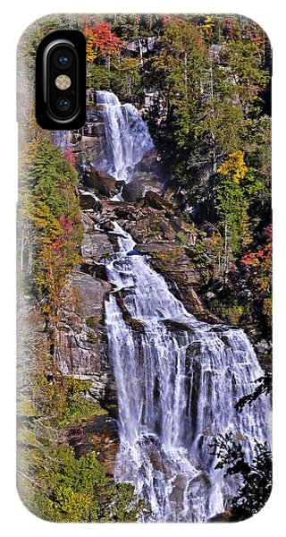 White Water Falls IPhone Case