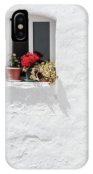 White Window IPhone Case