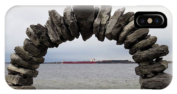 Whitefish Bay Under The Arch IPhone Case