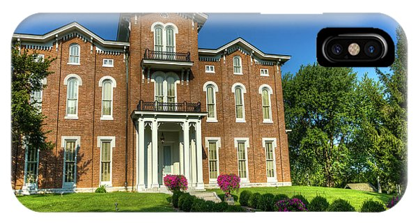 Grenn iPhone Case - Whitehall Historic House by Michael Bowling