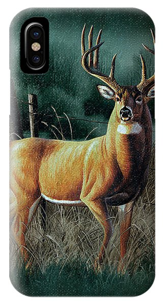 Hunting iPhone Case - Whitetail Deer by JQ Licensing