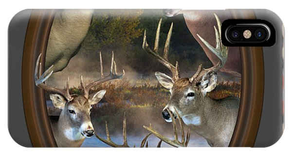 White Tailed Deer iPhone Case - Whitetail Dreams by Shane Bechler