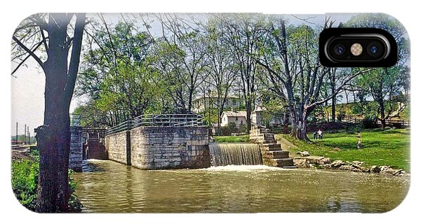 Whitewater Canal Metamora Indiana IPhone Case
